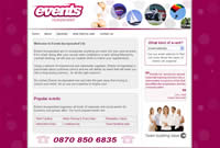 Events Incorporated event management functions