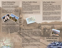SA Roadrunners - Classic Motorcycle Tours South Africa